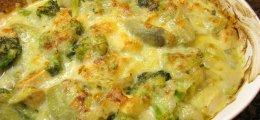 Revuelto de alcachofas y brócoli